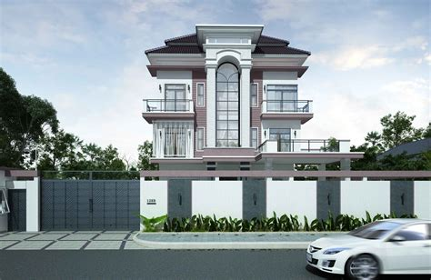 home design company in cambodia apartment exterior sketch look for price structure