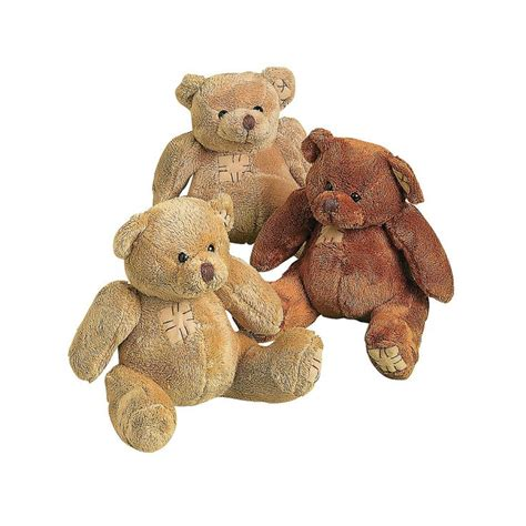 Patchwork Teddy Bears - 17 best images about 1st birthday on brown