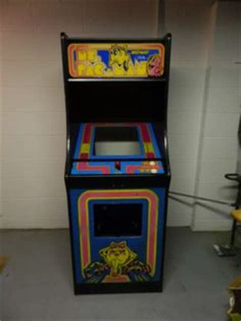 super pac man arcade cabinet pacman arcade cabinet for sale 1 750 contains