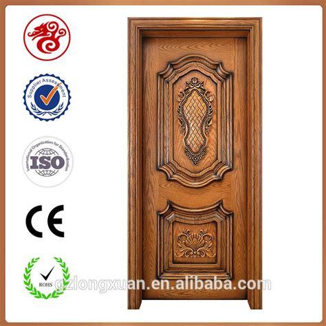 flower design on main door luxury design teak single main carved wood door models