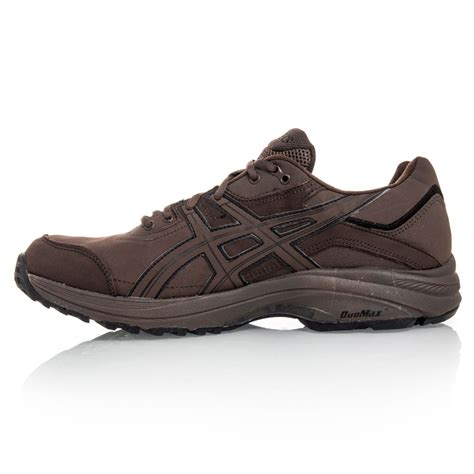 asics gel odyssey wr womens walking shoes brown