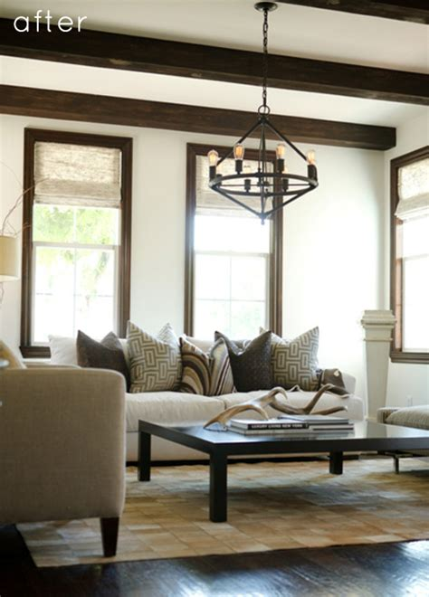 lofty living room makeover designsponge