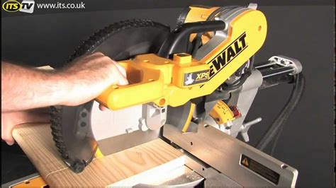 dewalt drop saw bench dewalt dws780 305mm slide compound mitre saw youtube