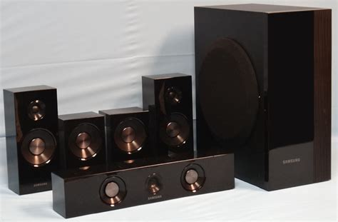 ht c5500 home theater system 5 1 channel sub speakers only