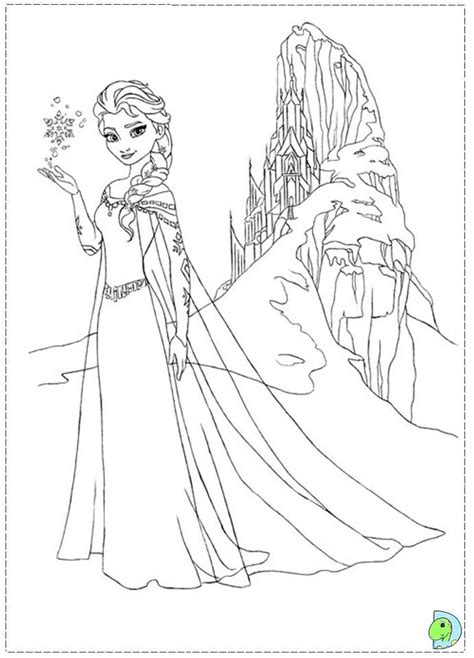 coloring pages disney elsa frozen thema tekenen kleurplaten disney pinterest