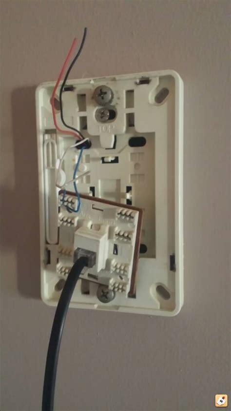 telephone wall socket wiring diagram efcaviation