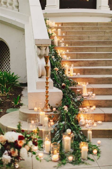 Flower To Decorate A Wedding by 25 Best Ideas About Wedding Staircase On