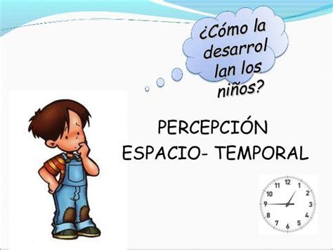 imagenes espacio temporales percepci 211 n espacio temporal