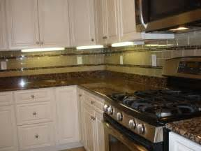 glass subway tile kitchen backsplash brown glass subway tile backsplash home design ideas
