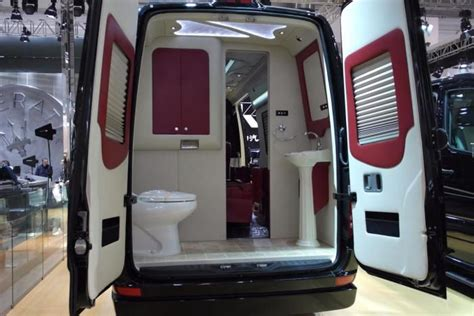 travel van with bathroom starcoach luxury van mb sprinter cer vans bed sets