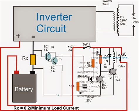 inverter battery charger circuit diagram inverter charger wiring diagram wiring diagram
