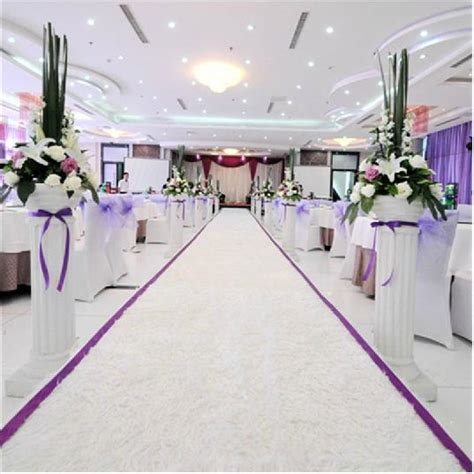 Wedding Aisle Flooring by White Wedding Aisle Carpet Floor Matttroy