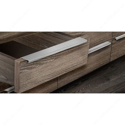 metal edge cabinet hardware pull contemporary stainless steel edge pull 576 richelieu