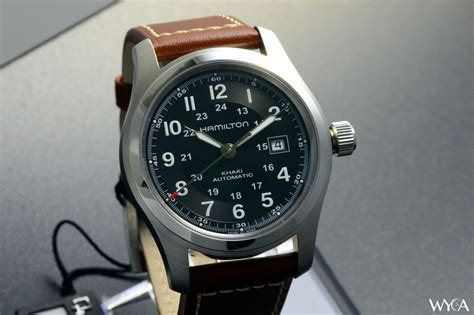 Hamilton Khaki Automatic hamilton khaki field automatic review reviews wyca