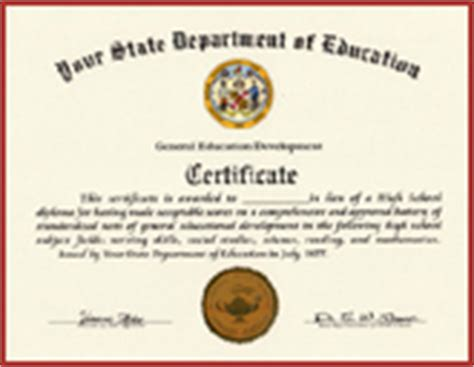 Print Your Own Fake Diploma From Our Diploma Template Free Ged Template
