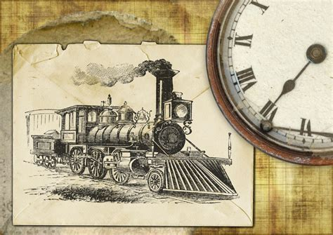 old vintage images free illustration old vintage retro locomotive free