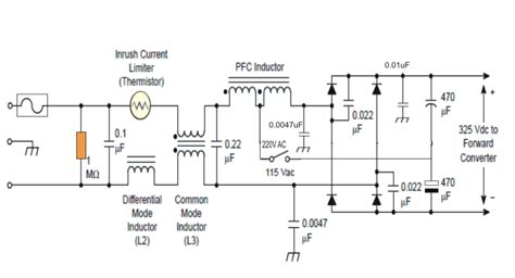 power factor correction rlc circuit power factor correction pfc circuit tutorial