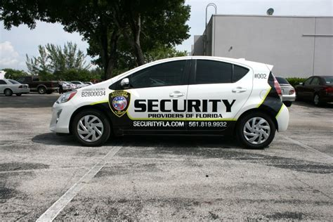 in car security security car graphics lettering