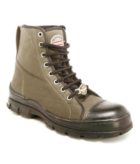 liberty green leather safety shoes price in india buy