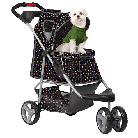 puppy strollers petzip monogram pet stroller