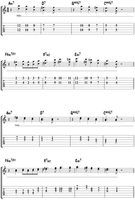 tutorial gitar jazz autumn leaves jazz guitar chords jazz lessons
