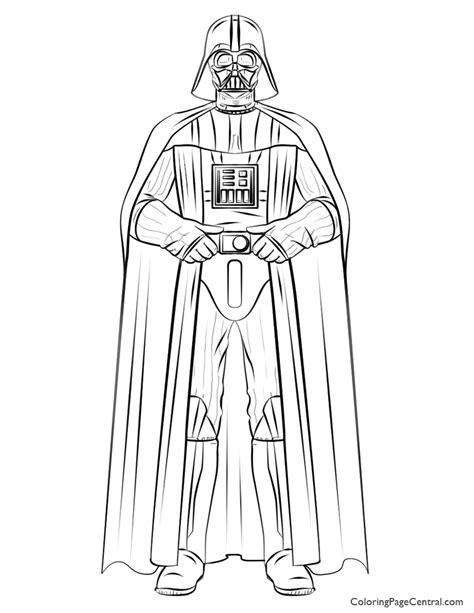 lego wars coloring pages darth vader wars darth vader 01 coloring page coloring page