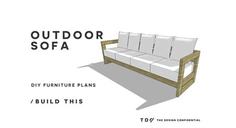 Free diy furniture plans how to build an aegean outdoor sofa the