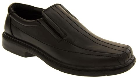 boys loafers size 7 mens slip on shoes gents work loafers boys school shoes