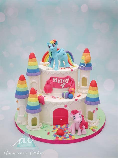 rainbow dash cake template my pony kasteel taart met geboetseerde rainbow dash