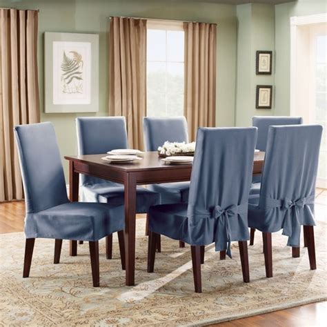 dining chair covers add style  elegance   dining room
