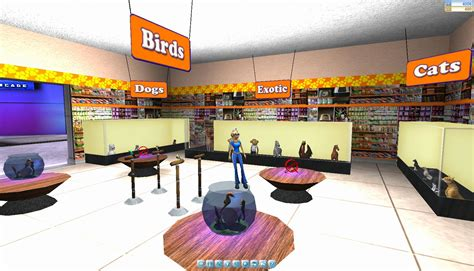 pet store onverse a free 3d world unveils pets and a new