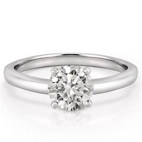 Solitaire Engagement classic solitaire ring solitaire engagement ring asha