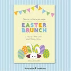 tarjeta de invitaci 243 n de desayuno almuerzo de pascua