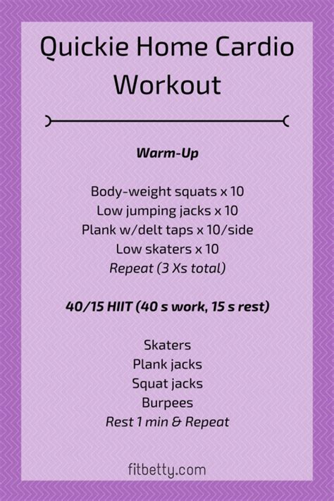 at home workouts for winter