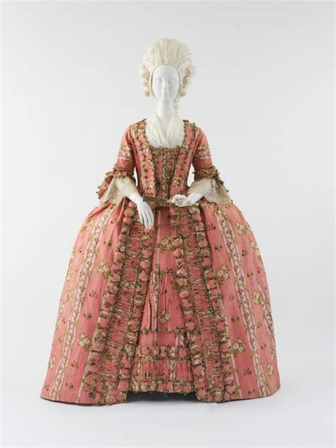 Furniture Upholstery Dallas French Pink Dress From The 18th Century 1775