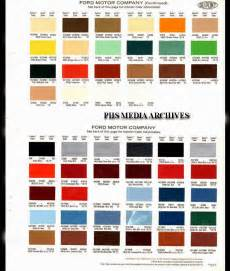 Ford Paint Colors Phscollectorcarworld Restoration Help Series 1979 Ford