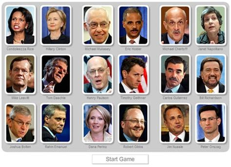Current Cabinet Members The Obama Cabinet Memory Style For Wonks Politico