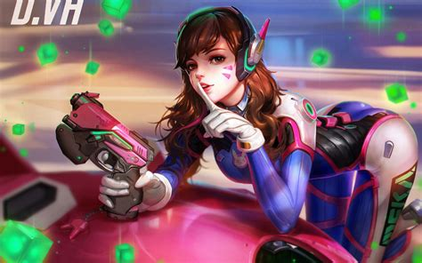 wallpaper engine lewd wallpaper dva overwatch fusion cannon games 866