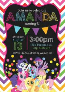 the 25 best my little pony invitations ideas on pinterest