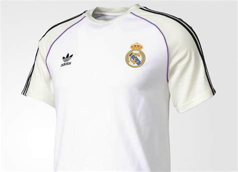 Jersey Retro Madrid adidas originals real madrid jersey white white