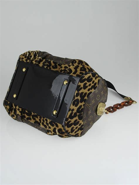 louis vuitton limited edition monogram leopard stephen bag