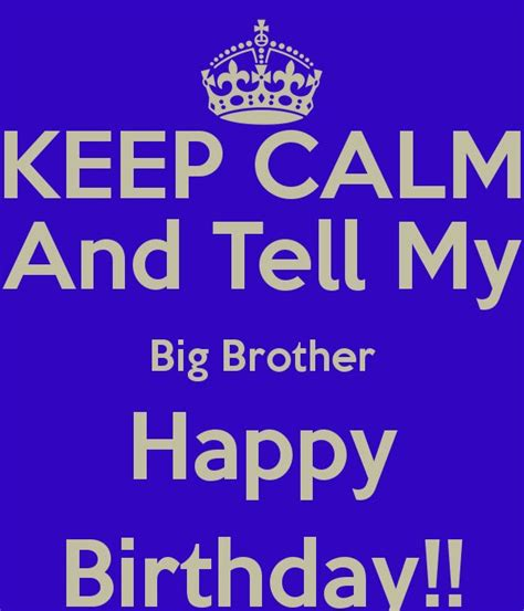 Big Birthday Quotes 25 Best Brother Birthday Quotes On Pinterest Brother