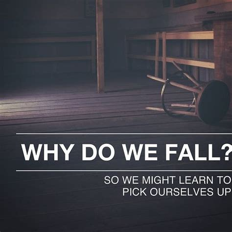 7 Reasons Why We Fall Out Of by Why Do We Fall Batman Poster Www Imgkid The Image