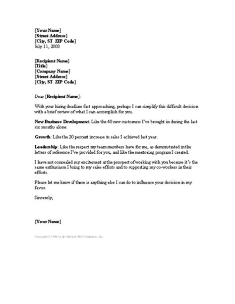 Cover Letter Sle Management by Cover Letter Exle Cover Letter Template Sales Manager