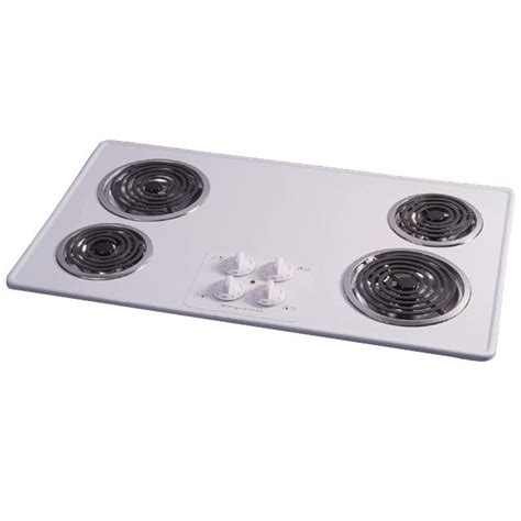 36 inch electric coil cooktop frigidaire 36 quot electric cooktop with coil elements