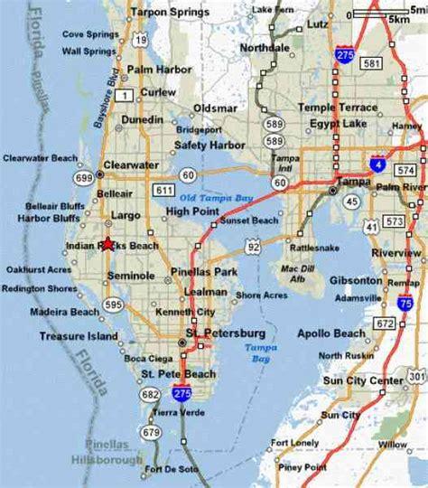 map of st petersburg fl map travel