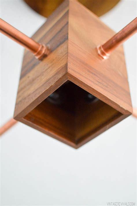 DIY Copper and Wood Hanging Light Fixture ? Vintage Revivals