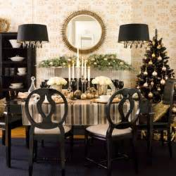 Entryway Runners 36 Super Elegant Black And Gold Christmas D 233 Cor Ideas