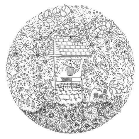 mindfulness colouring book secret garden 8 dessins pour s essayer au coloriage anti stress pour adulte