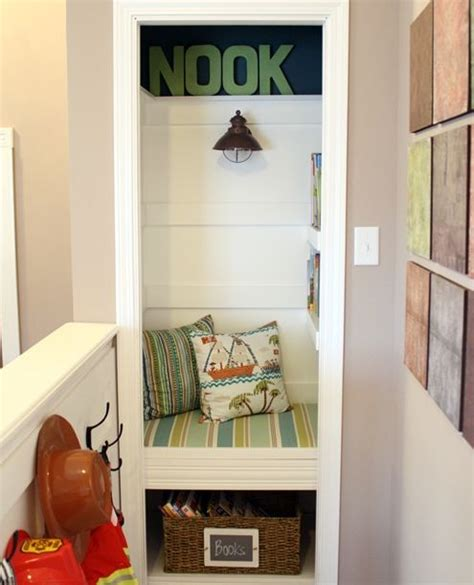 how to create a book nook for the home pinterest